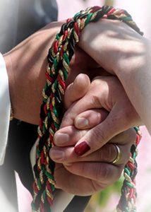 Hand Binding Ceremony Wedding Ritual Mount Tamborine Wedding Celebrant