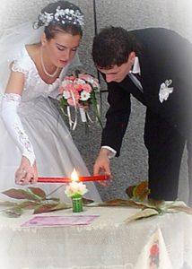 Unity Candle Ceremony Tamborine Mountain Wedding Celebrant